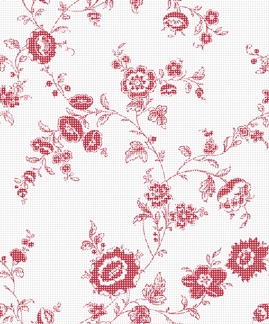 Floral_Repeat_SmallRedCheck_32cmTESTFLAT